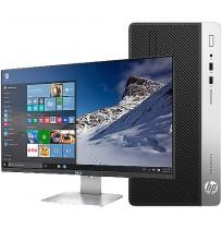 """HP 400G4PD MT - + écran 20.7 """" - Core I3-7100 4 GB/500GB Win 10p64"""