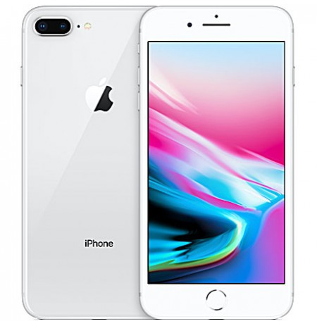 IPhone 8 Plus (Apple)  - 5.5 Pouces - 4G LTE - 64Go Rom - 3Go Ram - 2x12 Mpx - Silver