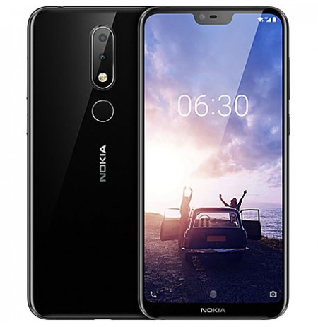 """Nokia 6.1 Plus -64 Go- 4Go - 5.8""""-16 Mpx - Noir"""