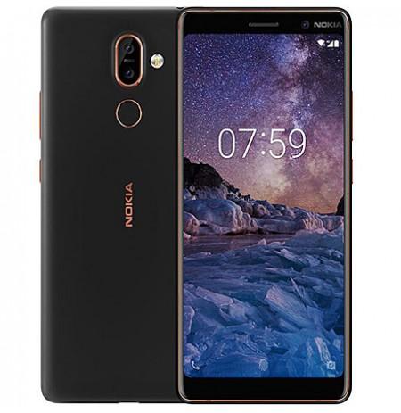 """Nokia 7 Plus - 4G - 6""""- Dual Sim - 13 MP - 4Go RAM - 64Go ROM"""