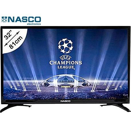 NASCO TV LED- Ultra Slim 32pouces- HD - Décodeur Intégré - HDMI - USB - VGA - Garantie1 an