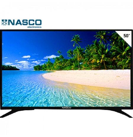 NASCO TV LED 50Pouces- Ultra HD 4K - Décodeur intégré - DV3 - T2 - S2 - HDMI - 2XUSB - AV