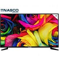 NASCO TV LED 43 Pouces- Décodeur Intégré Full HD - HDMI - USB - VGA - Noir - Garantie 1an