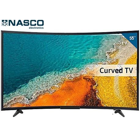"NASCO SMART TV 55"" - incurvé- Décodeur intégré - Android - Ultra HD 4K - PORT VGA/HDMI - Garantie 1 an"