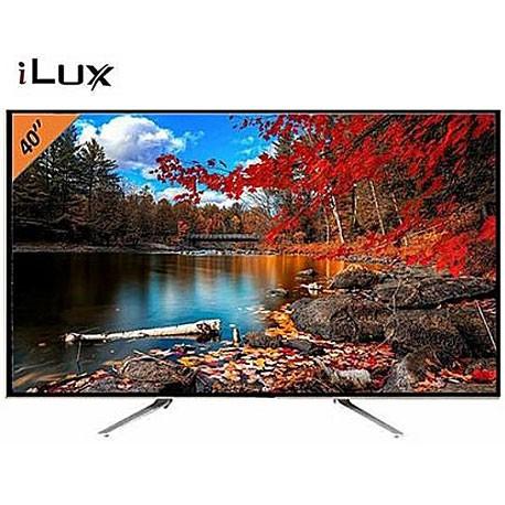 "iLUX TV LED Ultra Slim HD - 32"" -Port VGA - Décodeur Intégré - 3XHDMI - 1XUSB"