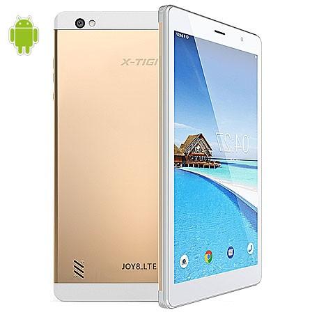 Tablette JOY8 LTEX-TIGI - 8pouces - 4G- 2G Ram - 16G Rom 5MP - Android 8.1 - 4000 MAh - Or