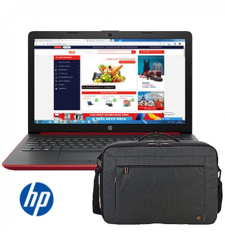 "PC Portable HP - Ecran 15.6"" - 4Go Ram - 500Go + Sac Simple Offert"