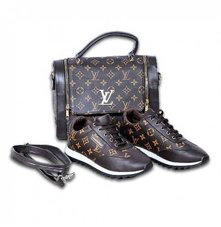 Ensemble chaussure et sac à main - Noir