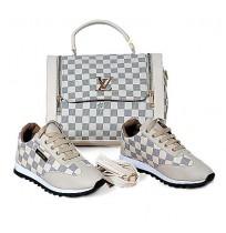 Ensemble Sac à main et chaussure  Louis Vuitton - Beige