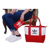 Ensemble Sac à main chaussure te portefeuille Adidas- Rouge