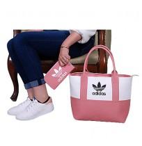 Ensemble Sac à main chaussure te portefeuille Adidas- Rose ...
