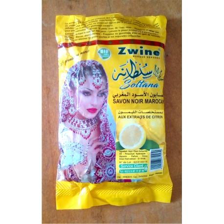 Savon noir du Maroc - Aux extraits de Citron